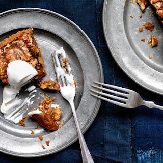 Malted Walnut Pie