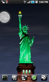 New York LWP Statue o Liberty - screenshot thumbnail