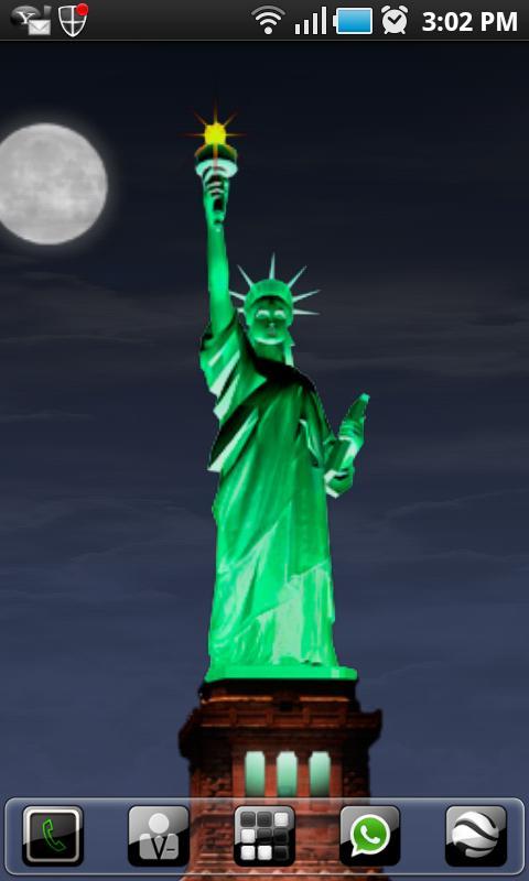 New York LWP Statue o Liberty - screenshot