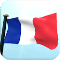 France Drapeau 3D Fond D'Écran icon