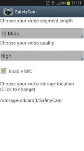 SafetyCam- screenshot thumbnail