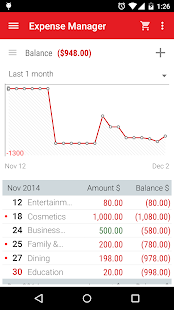 Expense Manager: budget, money - náhled