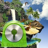 GO Locker Theme tropical
