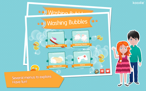 【免費教育App】kookie - Washing Bubbles-APP點子