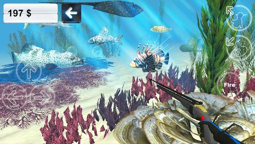 Подводная охота для планшетов на Android