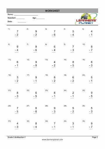 Grade-1-Maths-Subtraction-WB-2
