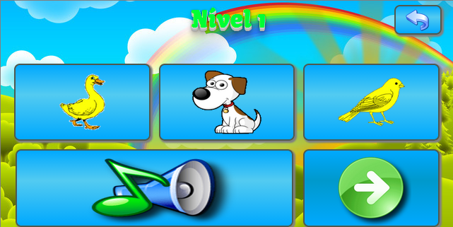 Sounds of Animals  Kids Game- screenshot