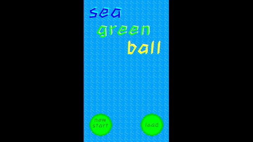 sea green ball