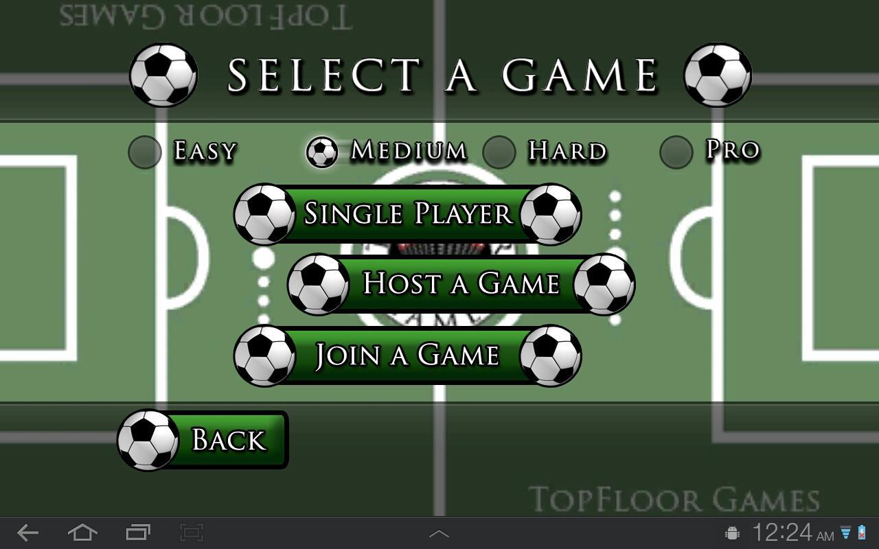 TopFloor Foosball- screenshot
