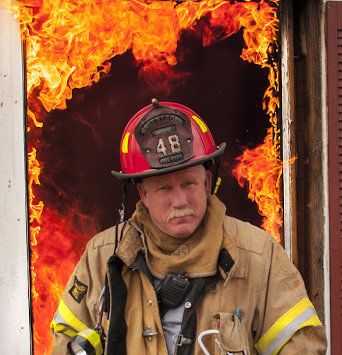 angel fire by Timothy Scarsphotography - People Portraits of Men ( fire firefighter,  )