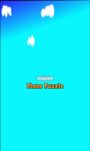 Plane Puzzle for Ages 4+