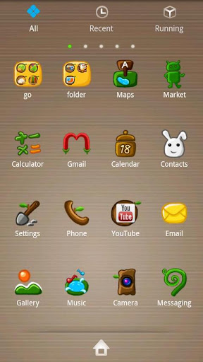 Quaint Go Launcher EX Theme v1.6