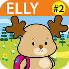 Elly 2 - goes to school icon
