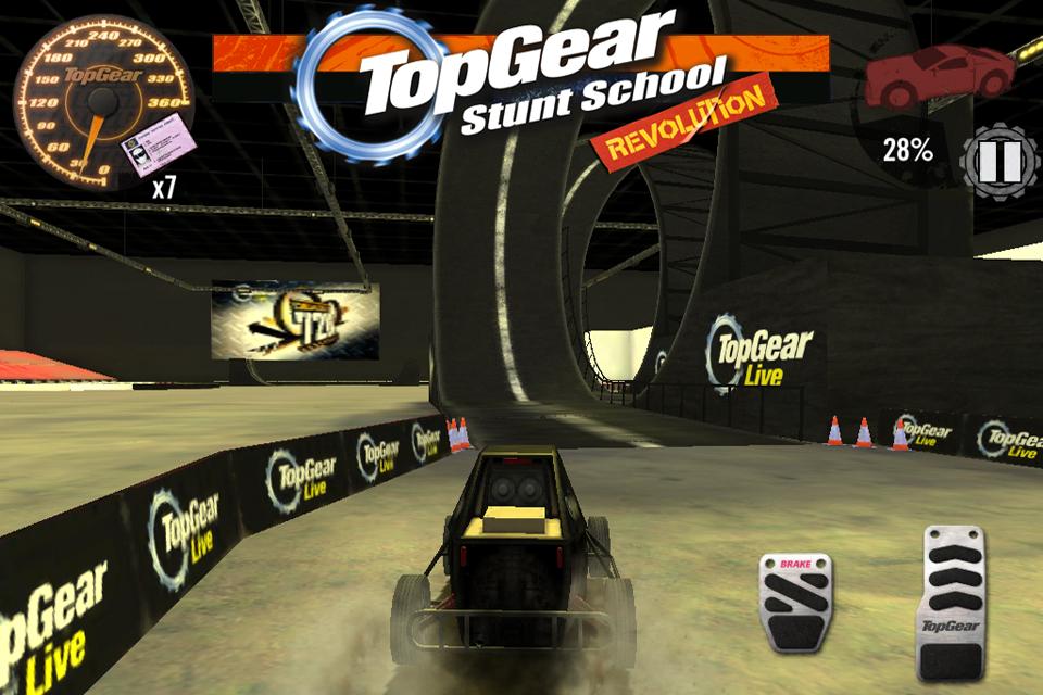 Top Gear: Stunt School SSR screenshot #14