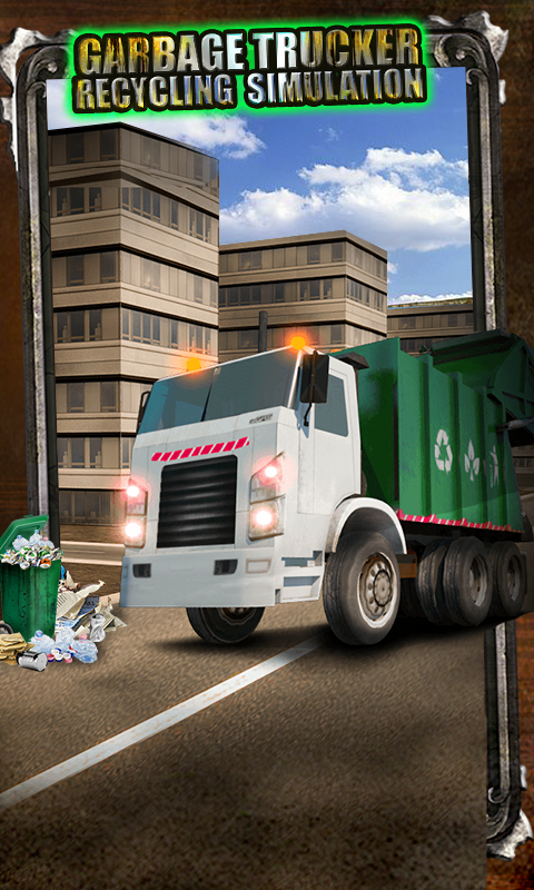 Garbage Trucker Recycling Sim- screenshot