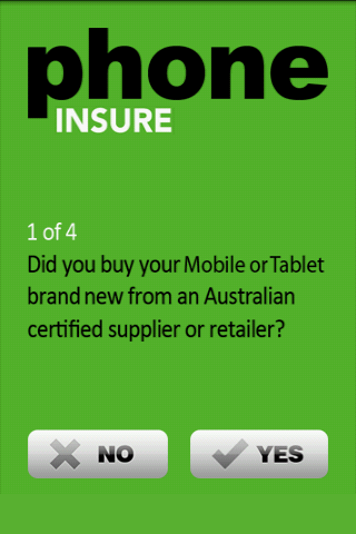 Phone Insure - screenshot