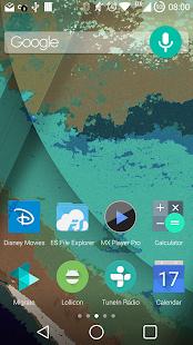 Lollicon Launcher Theme - screenshot