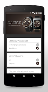 Aviator HD Watch Face- screenshot thumbnail