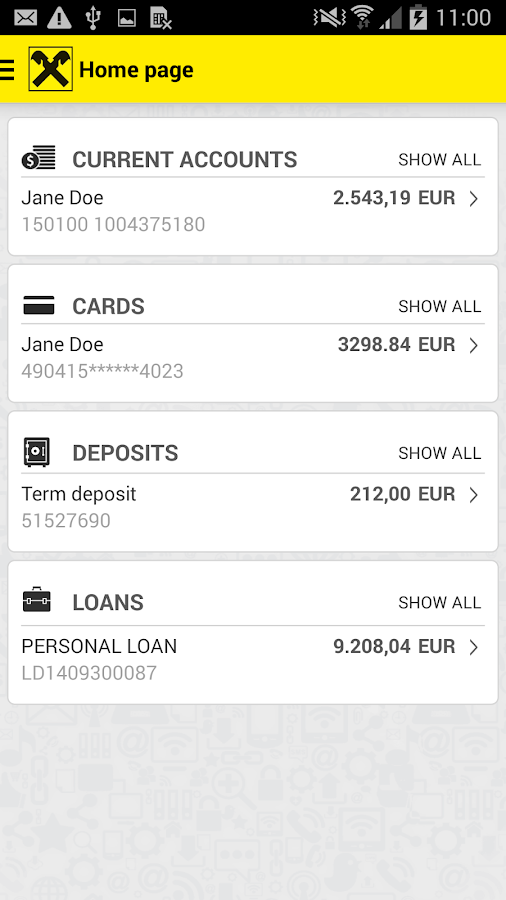 Raiffeisen Bank Kosovo- screenshot