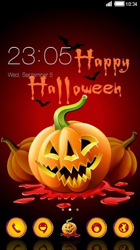 Happy Halloween Day Theme