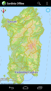 Offline Map Sardinia, Italy - náhled