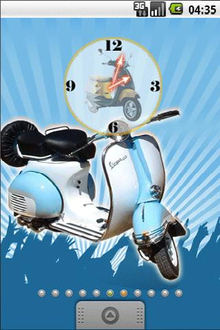 Vespa Classic Full Theme - screenshot