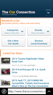 Cars Browser - screenshot thumbnail