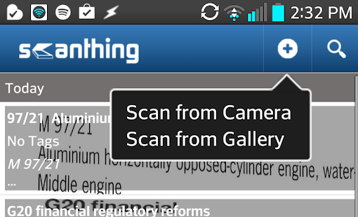 Scanthing (OCR & PDF Creator)- screenshot thumbnail