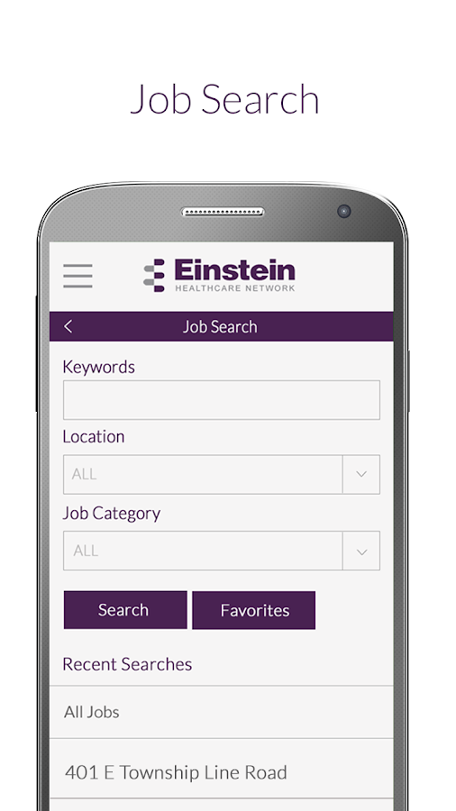 Einstein Health Network Jobs- screenshot