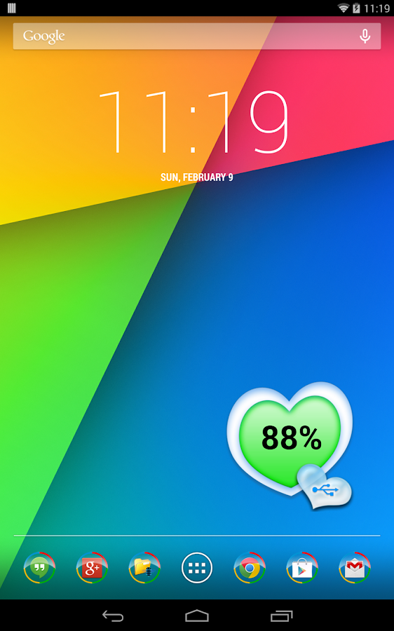 ABW Theme - Heart- screenshot