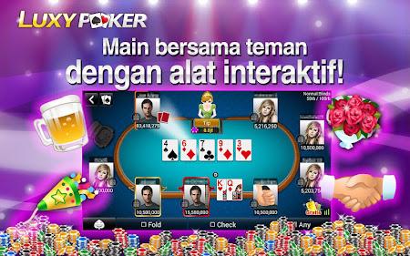 Poker: Luxy Poker Texas Holdem 1.2.2 screenshot 227151