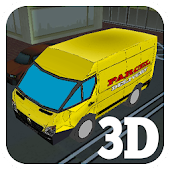 3D Truck Delivery Simulator