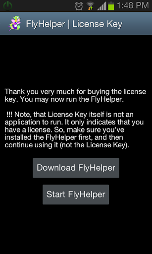 FlyHelper License Key
