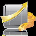 Stock portfolio icon