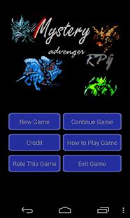 Mystery Advenger RPG Game