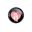 Crystal Romance Love Wallpaper icon