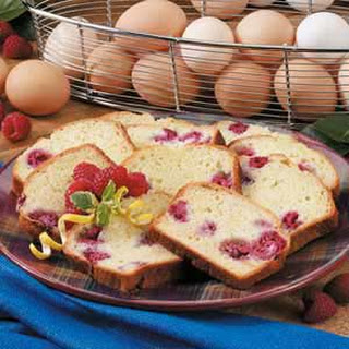 Raspberry Lemon Loaf.