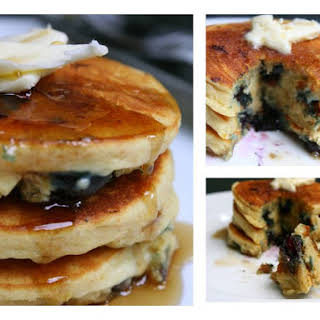 Lemon Blueberry Pancakes.
