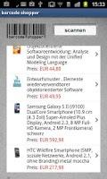 Screenshot of Barcode Shopper