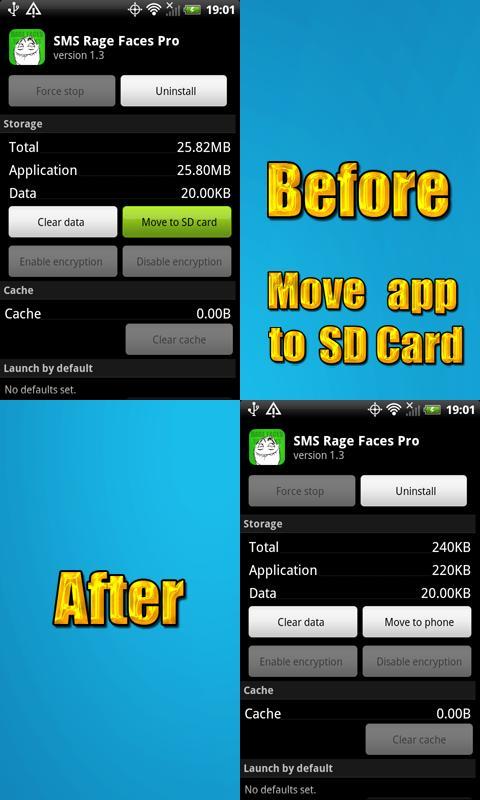 SMS Rage Faces Pro- screenshot