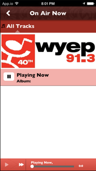 WYEP - screenshot