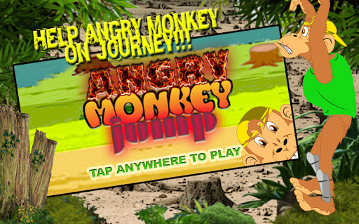 Angry Monkey Jump
