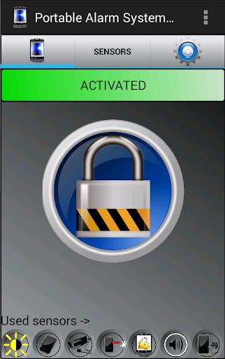 Portable Alarm System Pro
