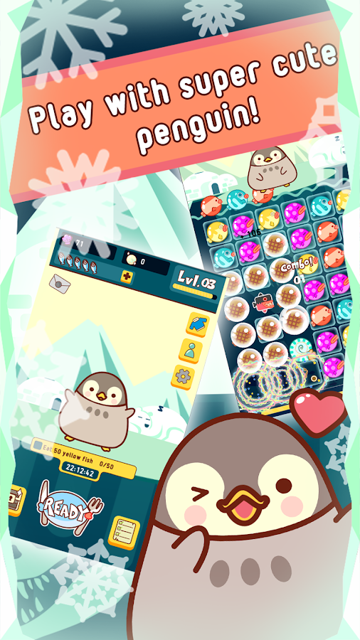 Roly Poly Penguin- screenshot