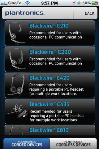 Plantronics UC - screenshot