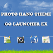 Photo Hang Theme Go Launcher