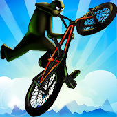 Monster BMX Stickman