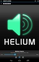 Screenshot of Helium Streamer