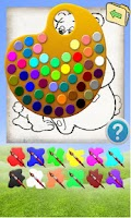 Screenshot of Coloring Game Animals