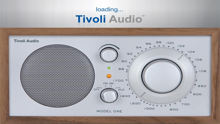 Tivoli Internet Radio- screenshot